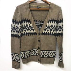 TWIK Comfy Wool-blend Cardigan Small